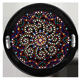 Jacksonville Mosaic Mandala Tray