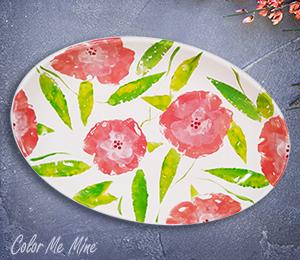 Jacksonville Floral Paper Stamping