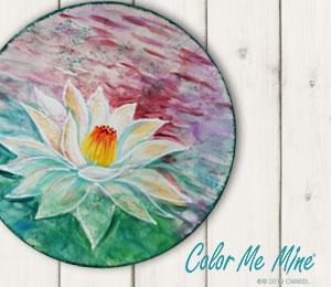 Jacksonville Lotus Flower Plate